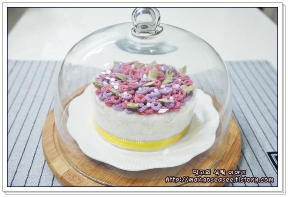 동글동글 러블리한 로제트 미니 떡케이크