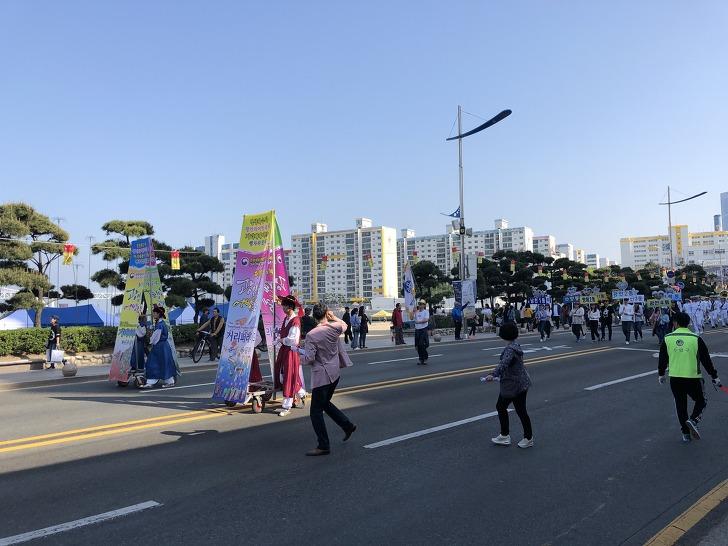 《광안리어방축제 2018》경상좌수사행렬 모습