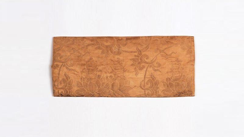 사진: 조선시대 베개. 경기도 박물관 자료사진.