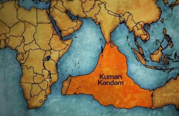 Kumari Kandam(lemuria continent)