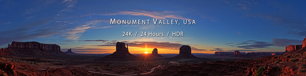 Monument Valley, 24Hours, 24K