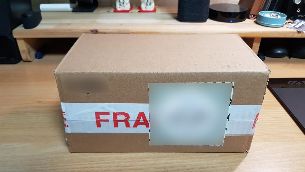 미국 스타벅스 리저브 콜드컵 포장 박스