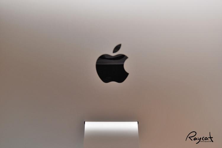 2017 아이맥 애플 로고