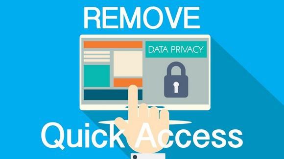 Remove Quick acces