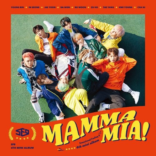SF9 - MAMMA MIA Lyrics [English, Romanization]