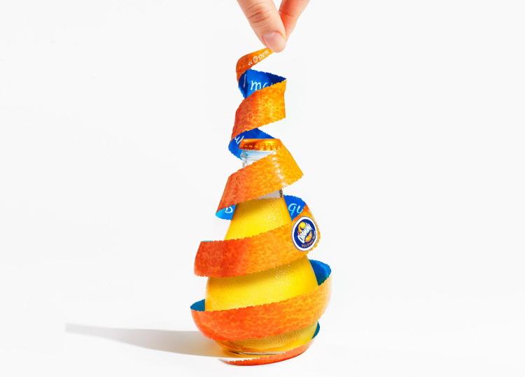 Orangina Sprial Peel, concept design