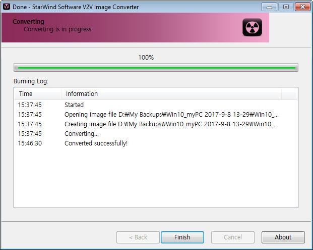 VMDK to ESXi StarWind V2V Image Converter
