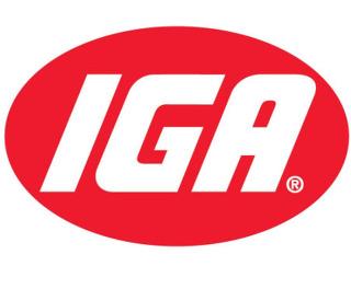 IGA의 로고 사진입니다.