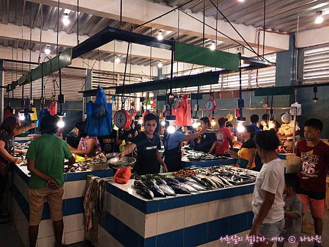 세부 막탄 시장